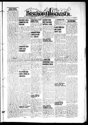 Primary view of object titled 'Bastrop Advertiser (Bastrop, Tex.), Vol. 96, No. 12, Ed. 1 Thursday, May 20, 1948'.