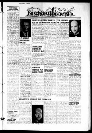 Primary view of object titled 'Bastrop Advertiser (Bastrop, Tex.), Vol. 96, No. 13, Ed. 1 Thursday, May 27, 1948'.