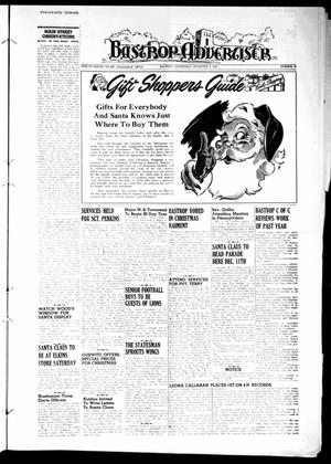 Primary view of object titled 'Bastrop Advertiser (Bastrop, Tex.), Vol. 96, No. 40, Ed. 1 Thursday, December 2, 1948'.