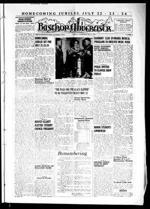Primary view of object titled 'Bastrop Advertiser (Bastrop, Tex.), Vol. 97, No. 10, Ed. 1 Thursday, May 5, 1949'.