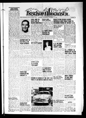 Primary view of object titled 'Bastrop Advertiser (Bastrop, Tex.), Vol. 97, No. 38, Ed. 1 Thursday, November 17, 1949'.