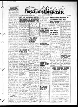 Primary view of object titled 'Bastrop Advertiser (Bastrop, Tex.), Vol. 97, No. 46, Ed. 1 Thursday, January 12, 1950'.