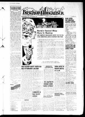 Primary view of object titled 'Bastrop Advertiser (Bastrop, Tex.), Vol. 98, No. 41, Ed. 1 Thursday, December 14, 1950'.