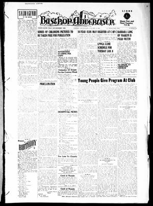 Primary view of object titled 'Bastrop Advertiser (Bastrop, Tex.), Vol. 99, No. 45, Ed. 1 Thursday, January 3, 1952'.