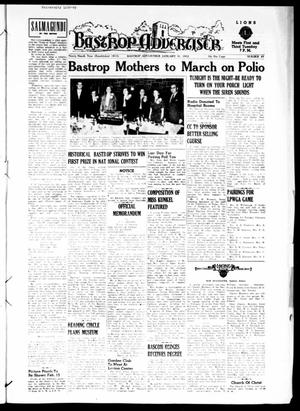 Bastrop Advertiser (Bastrop, Tex.), Vol. 99, No. 49, Ed. 1 Thursday, January 31, 1952