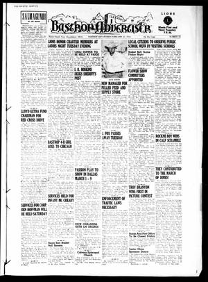Primary view of object titled 'Bastrop Advertiser (Bastrop, Tex.), Vol. 99, No. 52, Ed. 1 Thursday, February 21, 1952'.