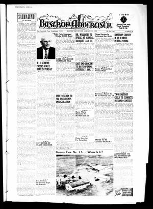 Primary view of object titled 'Bastrop Advertiser (Bastrop, Tex.), Vol. 100, No. 46, Ed. 1 Thursday, January 15, 1953'.