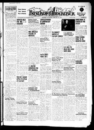Primary view of object titled 'Bastrop Advertiser (Bastrop, Tex.), Vol. 100, No. 52, Ed. 1 Thursday, February 26, 1953'.