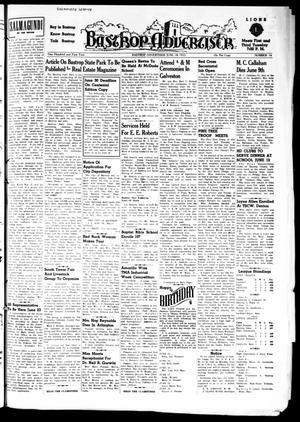 Primary view of Bastrop Advertiser (Bastrop, Tex.), Vol. 101, No. 16, Ed. 1 Thursday, June 18, 1953