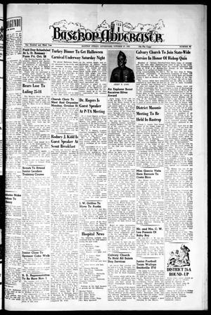Primary view of object titled 'Bastrop Advertiser (Bastrop, Tex.), Vol. 103, No. 35, Ed. 1 Thursday, October 27, 1955'.