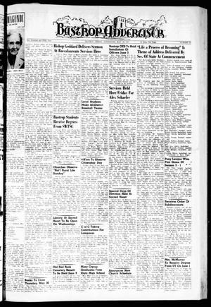 Primary view of object titled 'Bastrop Advertiser (Bastrop, Tex.), Vol. 105, No. 13, Ed. 1 Thursday, May 30, 1957'.