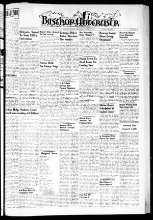Primary view of object titled 'Bastrop Advertiser (Bastrop, Tex.), Vol. 105, No. 16, Ed. 1 Thursday, June 20, 1957'.
