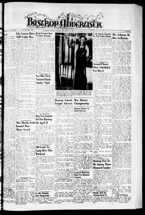 Primary view of object titled 'Bastrop Advertiser (Bastrop, Tex.), Vol. 107, No. 7, Ed. 1 Thursday, April 16, 1959'.