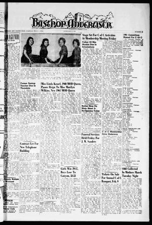 Bastrop Advertiser (Bastrop, Tex.), Vol. 108, No. 49, Ed. 1 Thursday, February 2, 1961