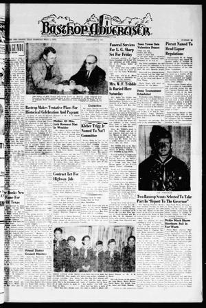 Bastrop Advertiser (Bastrop, Tex.), Vol. 108, No. 50, Ed. 1 Thursday, February 9, 1961