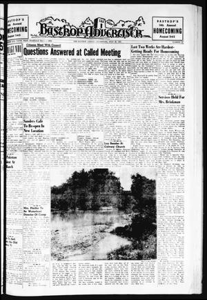 Primary view of object titled 'Bastrop Advertiser (Bastrop, Tex.), Vol. 109, No. 21, Ed. 1 Thursday, July 20, 1961'.