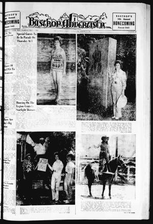 Primary view of object titled 'Bastrop Advertiser (Bastrop, Tex.), Vol. 109, No. 23, Ed. 1 Thursday, August 3, 1961'.