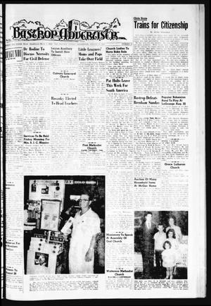 Primary view of object titled 'Bastrop Advertiser (Bastrop, Tex.), Vol. 109, No. 25, Ed. 1 Thursday, August 17, 1961'.