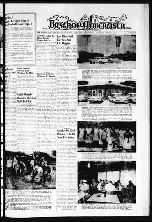 Primary view of object titled 'Bastrop Advertiser (Bastrop, Tex.), Vol. 109, No. 26, Ed. 1 Thursday, August 24, 1961'.