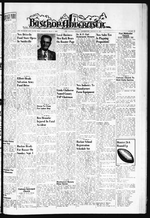 Primary view of object titled 'Bastrop Advertiser (Bastrop, Tex.), Vol. 109, No. 27, Ed. 1 Thursday, August 31, 1961'.
