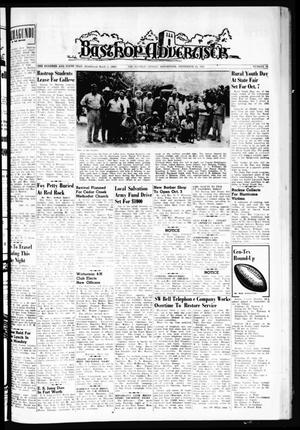 Primary view of object titled 'Bastrop Advertiser (Bastrop, Tex.), Vol. 109, No. 30, Ed. 1 Thursday, September 21, 1961'.