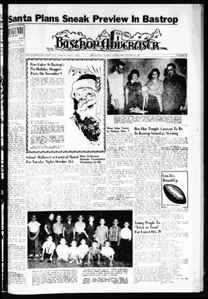Primary view of object titled 'Bastrop Advertiser (Bastrop, Tex.), Vol. 109, No. 35, Ed. 1 Thursday, October 26, 1961'.