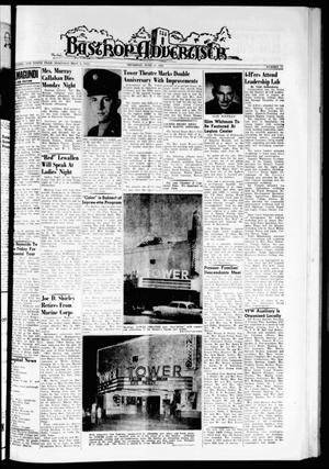 Primary view of object titled 'Bastrop Advertiser (Bastrop, Tex.), Vol. 110, No. 17, Ed. 1 Thursday, June 21, 1962'.