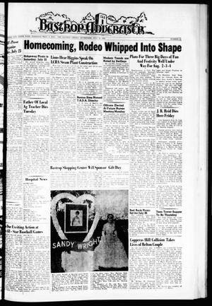 Primary view of object titled 'Bastrop Advertiser (Bastrop, Tex.), Vol. 110, No. 21, Ed. 1 Thursday, July 19, 1962'.