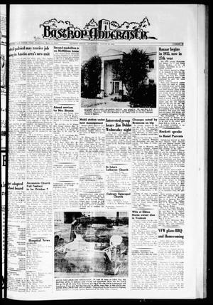 Primary view of object titled 'Bastrop Advertiser (Bastrop, Tex.), Vol. 110, No. 27, Ed. 1 Thursday, August 30, 1962'.