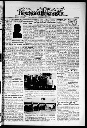 Primary view of object titled 'Bastrop Advertiser (Bastrop, Tex.), Vol. 110, No. 52, Ed. 1 Thursday, February 21, 1963'.