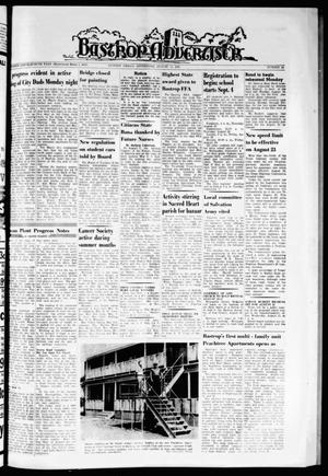 Primary view of object titled 'Bastrop Advertiser (Bastrop, Tex.), Vol. 111, No. 24, Ed. 1 Thursday, August 15, 1963'.