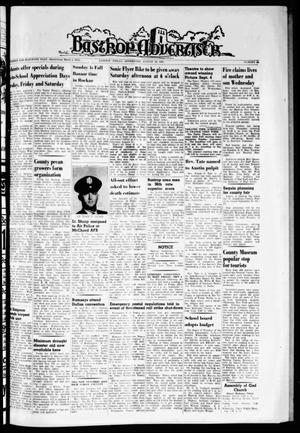Primary view of object titled 'Bastrop Advertiser (Bastrop, Tex.), Vol. 111, No. 26, Ed. 1 Thursday, August 29, 1963'.