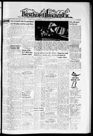 Primary view of object titled 'Bastrop Advertiser (Bastrop, Tex.), Vol. 111, No. 28, Ed. 1 Thursday, September 12, 1963'.