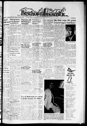 Primary view of object titled 'Bastrop Advertiser (Bastrop, Tex.), Vol. 111, No. 31, Ed. 1 Thursday, October 3, 1963'.