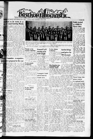 Primary view of Bastrop Advertiser (Bastrop, Tex.), Vol. 112, No. 6, Ed. 1 Thursday, April 9, 1964