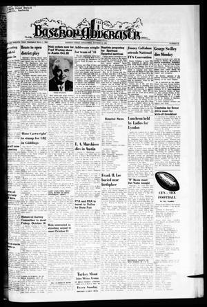 Primary view of object titled 'Bastrop Advertiser (Bastrop, Tex.), Vol. 112, No. 33, Ed. 1 Thursday, October 15, 1964'.