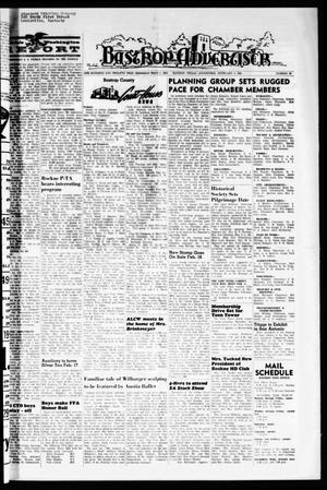 Primary view of object titled 'Bastrop Advertiser (Bastrop, Tex.), Vol. 112, No. 49, Ed. 1 Thursday, February 4, 1965'.