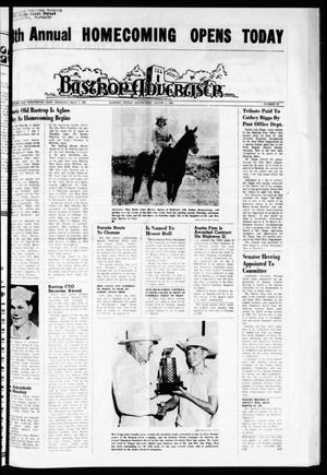 Primary view of object titled 'Bastrop Advertiser (Bastrop, Tex.), Vol. 113, No. 23, Ed. 1 Thursday, August 5, 1965'.