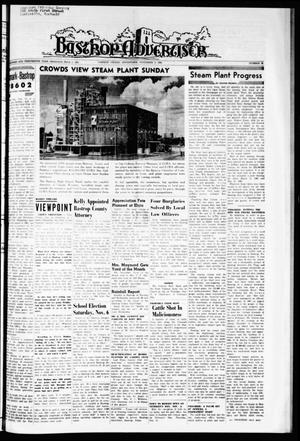 Primary view of object titled 'Bastrop Advertiser (Bastrop, Tex.), Vol. 113, No. 36, Ed. 1 Thursday, November 4, 1965'.