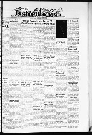Primary view of object titled 'Bastrop Advertiser (Bastrop, Tex.), Vol. 114, No. 12, Ed. 1 Thursday, May 19, 1966'.