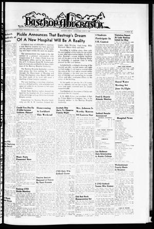 Primary view of object titled 'Bastrop Advertiser (Bastrop, Tex.), Vol. 114, No. 15, Ed. 1 Thursday, June 9, 1966'.