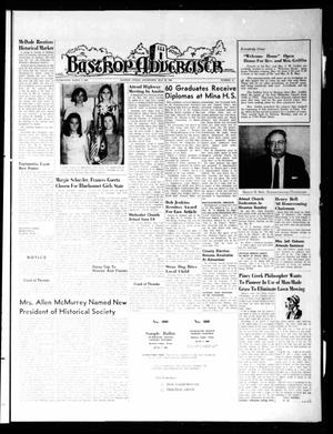Primary view of object titled 'Bastrop Advertiser (Bastrop, Tex.), Vol. [115], No. 13, Ed. 1 Thursday, May 30, 1968'.