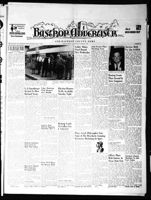 Primary view of object titled 'Bastrop Advertiser and Bastrop County News (Bastrop, Tex.), Vol. 115, No. 35, Ed. 1 Thursday, October 31, 1968'.