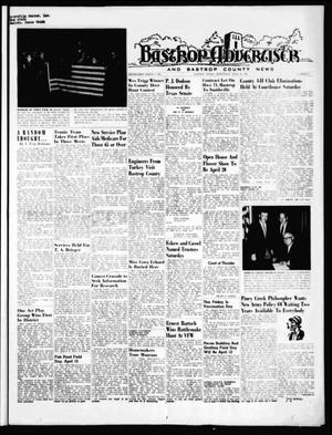 Primary view of object titled 'Bastrop Advertiser and Bastrop County News (Bastrop, Tex.), Vol. [116], No. 6, Ed. 1 Thursday, April 10, 1969'.
