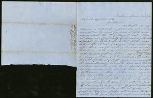 Primary view of object titled 'Letter to Appleton & Co., 9 November 1860'.