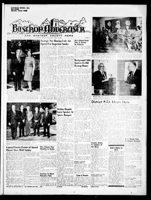 Primary view of object titled 'Bastrop Advertiser and Bastrop County News (Bastrop, Tex.), Vol. [116], No. 8, Ed. 1 Thursday, April 24, 1969'.