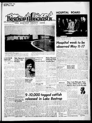 Primary view of object titled 'Bastrop Advertiser and Bastrop County News (Bastrop, Tex.), Vol. [116], No. 10, Ed. 1 Thursday, May 8, 1969'.