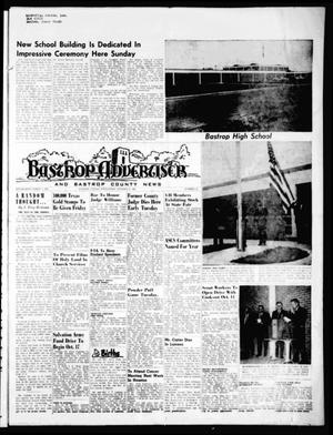 Primary view of object titled 'Bastrop Advertiser and Bastrop County News (Bastrop, Tex.), Vol. [116], No. 32, Ed. 1 Thursday, October 9, 1969'.