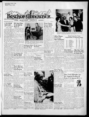 Primary view of object titled 'Bastrop Advertiser and Bastrop County News (Bastrop, Tex.), Vol. [117], No. 2, Ed. 1 Thursday, March 12, 1970'.