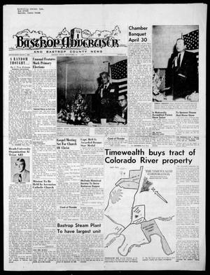 Primary view of object titled 'Bastrop Advertiser and Bastrop County News (Bastrop, Tex.), Vol. [117], No. 10, Ed. 1 Thursday, May 7, 1970'.